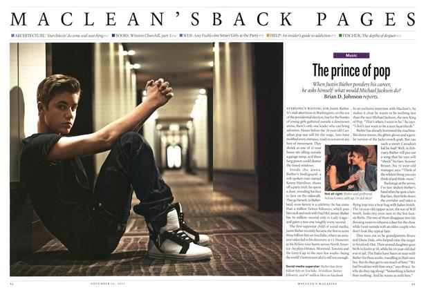 Article Preview: The prince of pop, November 2012 | Maclean's
