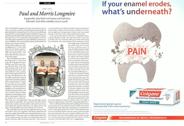 Article Preview: Paul and Morris Longmire, November 2012 | Maclean's