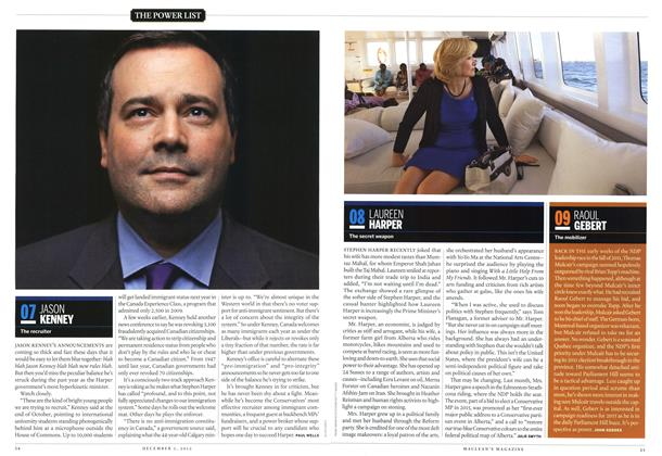 Article Preview: 09 RAOUL GEBERT, December 2012 | Maclean's