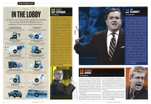 Article Preview: 13 D'ARCY LEVESQUE, December 2012 | Maclean's
