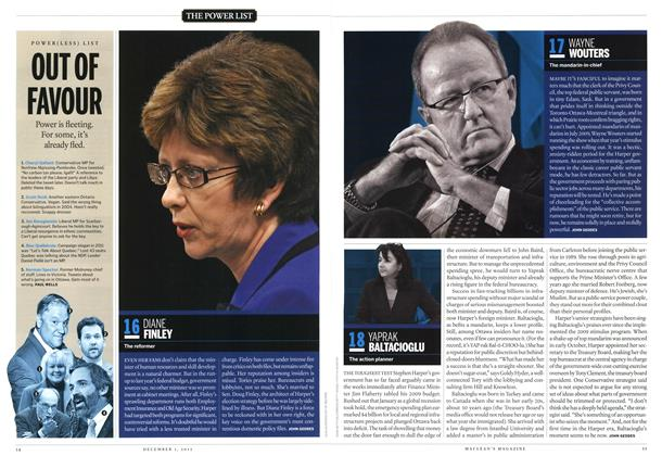 Article Preview: 18 YAPRAK BALTACIOGLU, December 2012 | Maclean's