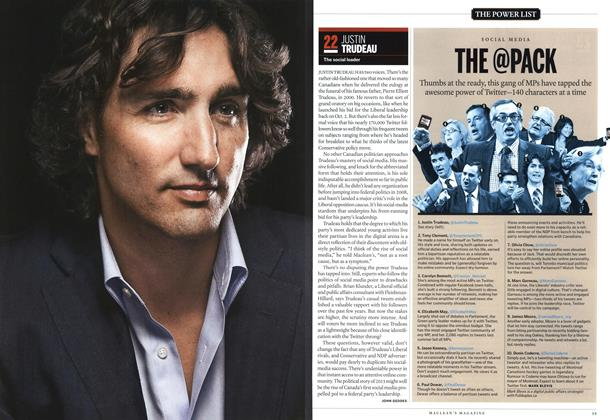 Article Preview: 22 JUSTIN TRUDEAU, December 2012 | Maclean's