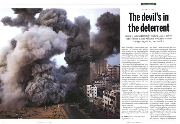 Article Preview: The devil's in the deterrent, December 2012 | Maclean's
