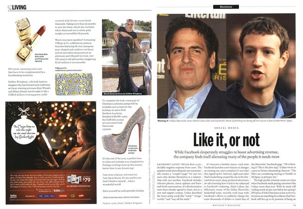 Article Preview: Like it, or not, December 2012 | Maclean's