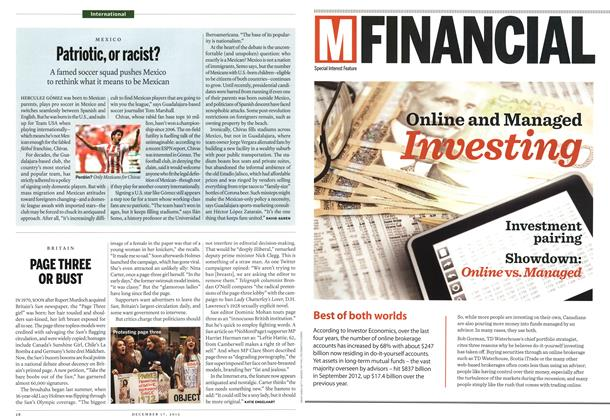 Article Preview: Patriotic, or racist?, DECEMBER 10 & 17, 2012 2012 | Maclean's