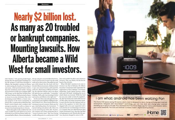 Article Preview: Nearly $2 billion lost., DECEMBER 10 & 17, 2012 2012 | Maclean's
