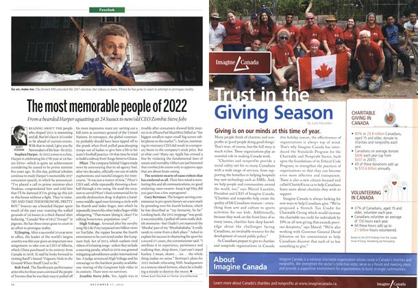 Article Preview: The most memorable people of 2022, DECEMBER 10 & 17, 2012 2012 | Maclean's