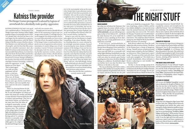 Article Preview: Katniss the provider, DECEMBER 10 & 17, 2012 2012 | Maclean's