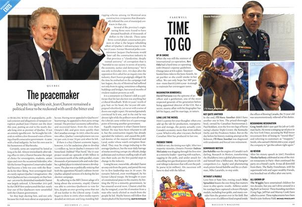 Article Preview: TIME TO GO, DECEMBER 10 & 17, 2012 2012 | Maclean's