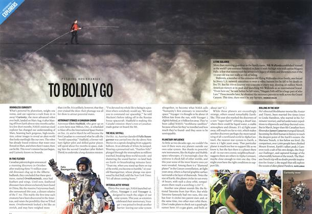Article Preview: TO BOLDLY GO, DECEMBER 10 & 17, 2012 2012 | Maclean's