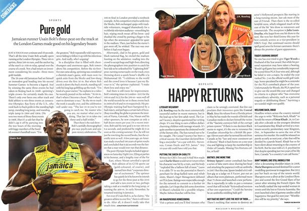 Article Preview: Pure gold, DECEMBER 10 & 17, 2012 2012 | Maclean's