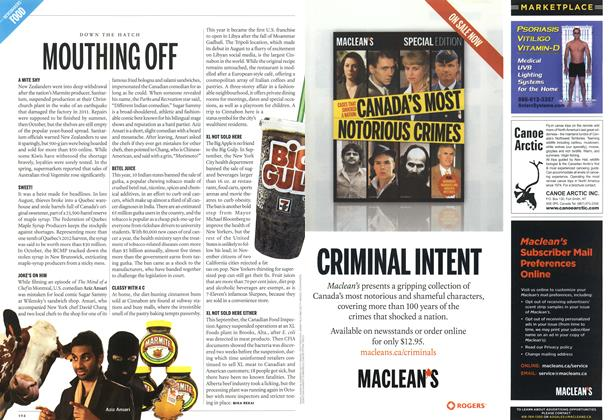 Article Preview: MOUTHING OFF, DECEMBER 10 & 17, 2012 2012 | Maclean's