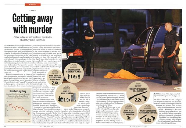 Article Preview: Getting away with murder, DECEMBER 10 & 17, 2012 2012 | Maclean's