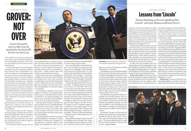 Article Preview: GROVER: NOT OVER, December 2012 | Maclean's