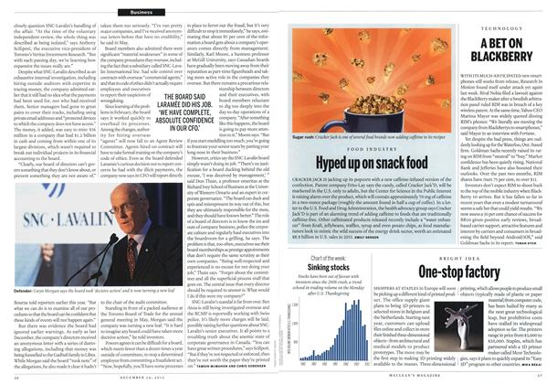 Article Preview: One-stop factory, December 2012 | Maclean's
