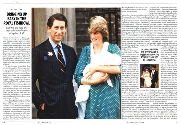 Article Preview: BRINGING UP BABY IN THE ROYAL FISHBOWL, December 2012 | Maclean's