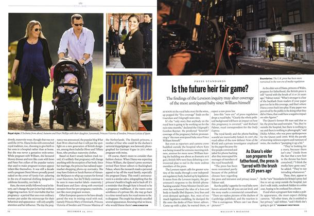 Article Preview: Is the future heir fair game?, December 2012 | Maclean's