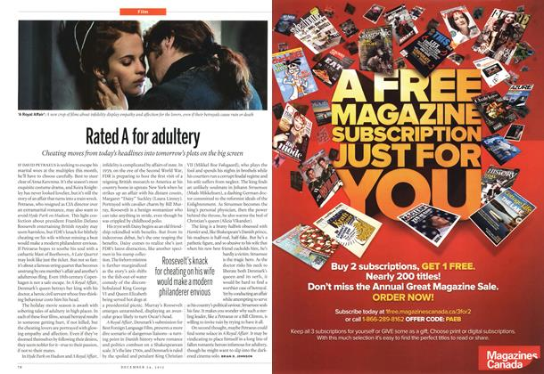 Article Preview: Rated A for adultery, December 2012 | Maclean's