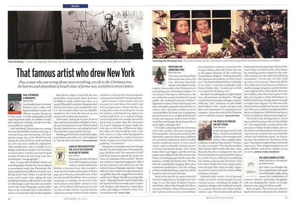 Article Preview: That famous artist who drew New York, December 2012 | Maclean's