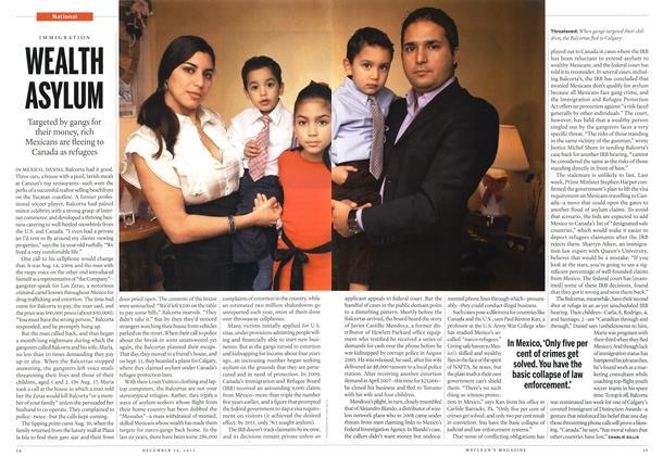 Article Preview: WEALTH ASYLUM, December 2012 | Maclean's