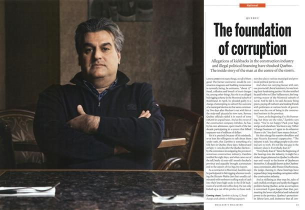 Article Preview: The foundation of corruption, January 2012 | Maclean's