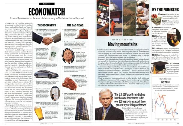 Article Preview: ECONOWATCH, January 2012 | Maclean's