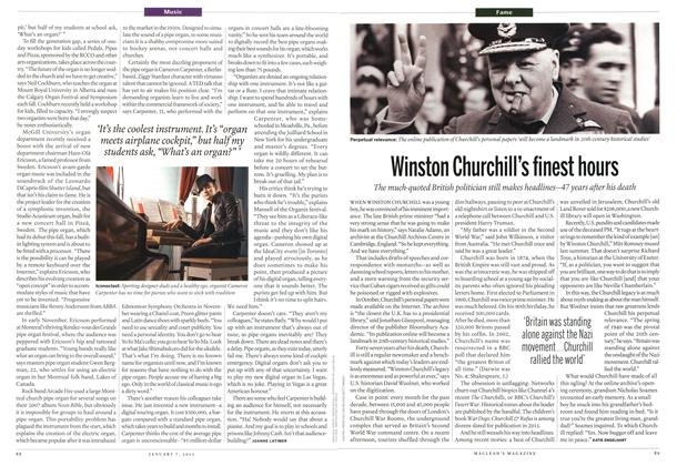 Article Preview: Winston Churchill's finest hours, January 2012 | Maclean's