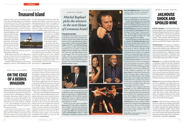 Article Preview: JAILHOUSE SHOCK AND SPOILED WINE, January 2013 | Maclean's