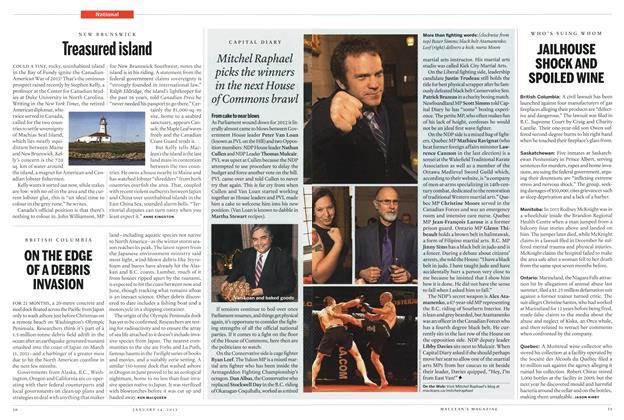 Article Preview: Treasured island, January 2013 | Maclean's