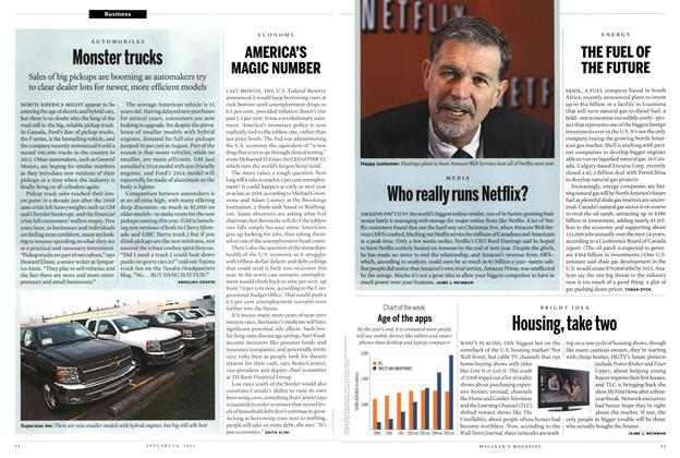 Article Preview: Who really runs Netflix?, January 2013 | Maclean's