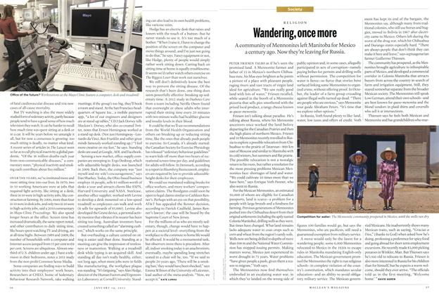 Article Preview: Wandering, once more, January 2013 | Maclean's