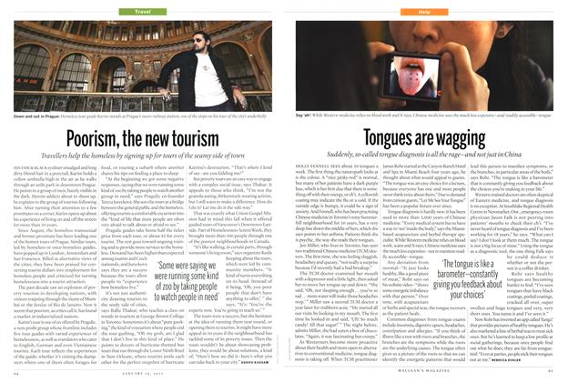 Article Preview: Tongues are wagging, January 2013 | Maclean's