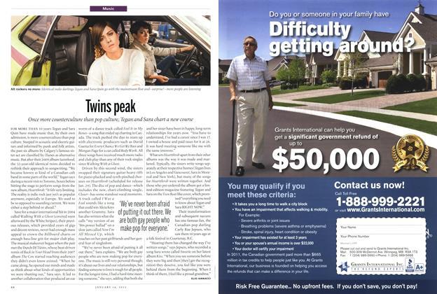 Article Preview: Twins peak, January 2013 | Maclean's