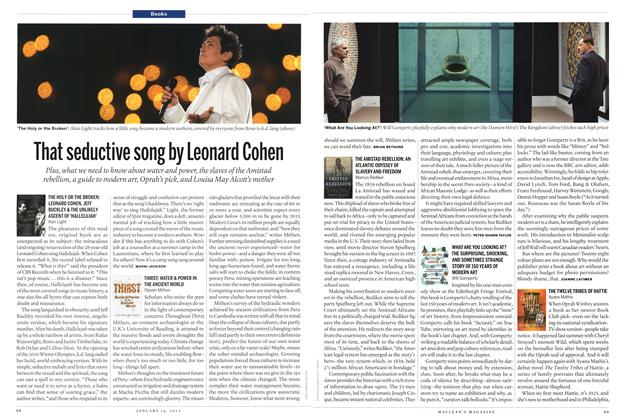 Article Preview: That seductive song by Leonard Cohen, January 2013 | Maclean's