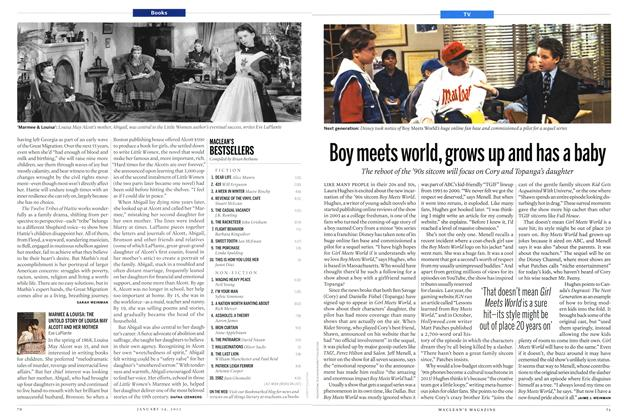 Article Preview: Boy meets world, grows up and has a baby, January 2013 | Maclean's