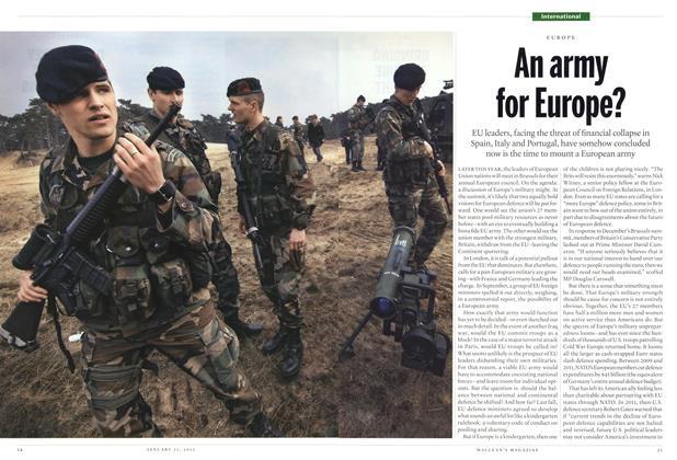 Article Preview: Internatinoal, JANUARY 21,2013 2013 | Maclean's
