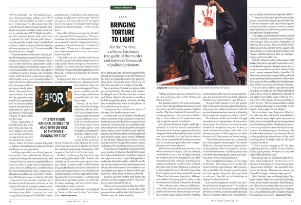 Article Preview: BRINGING TORTURE TO LIGHT, JANUARY 21,2013 2013 | Maclean's