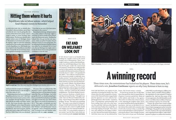 Article Preview: A winning record, JANUARY 21,2013 2013 | Maclean's