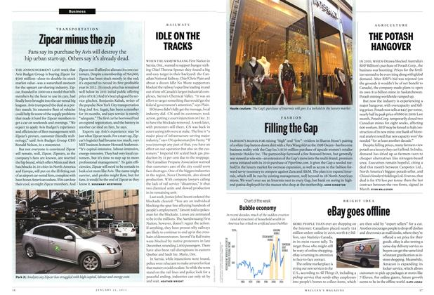 Article Preview: Zipcar minus the zip, JANUARY 21,2013 2013 | Maclean's