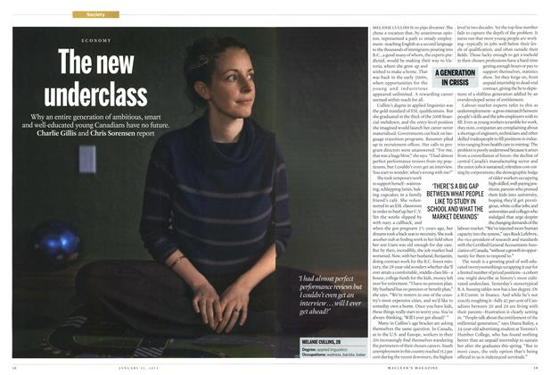 Article Preview: The new underclass, JANUARY 21,2013 2013 | Maclean's