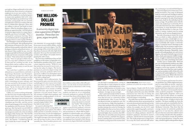 Article Preview: THE MILLIONDOLLAR PROMISE, JANUARY 21,2013 2013 | Maclean's