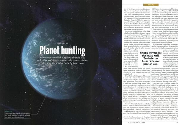 Article Preview: Planet hunting, January 2013 | Maclean's