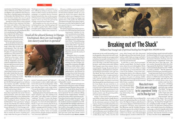 Article Preview: Breaking out of 'The Shack', January 2013 | Maclean's