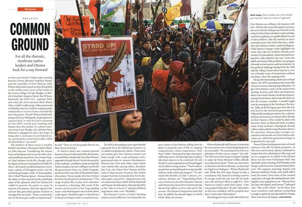 Article Preview: COMMON GROUND, January 2013 | Maclean's