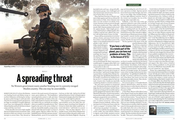 Article Preview: A spreading threat, February 2013 | Maclean's