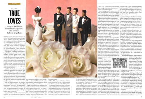 Article Preview: TRUE LOVES, February 2013 | Maclean's