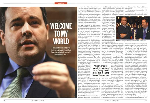 Article Preview: WELCOME TO MY WORLD, February 2013 | Maclean's