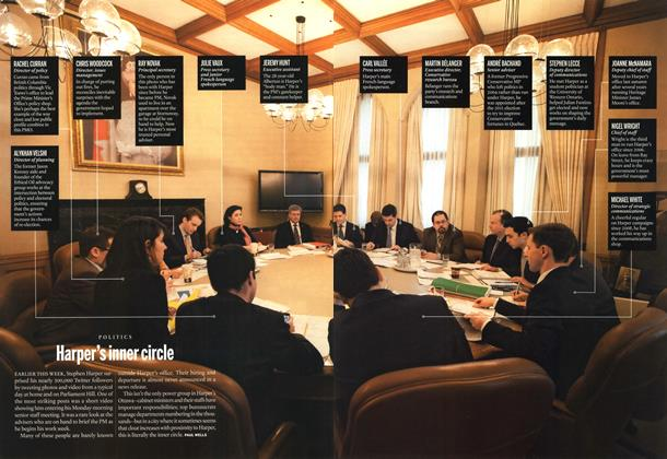 Article Preview: Harper's inner circle, February 2013 | Maclean's