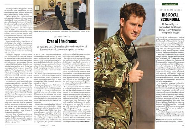 Article Preview: Czar of the drones, February 2013 | Maclean's