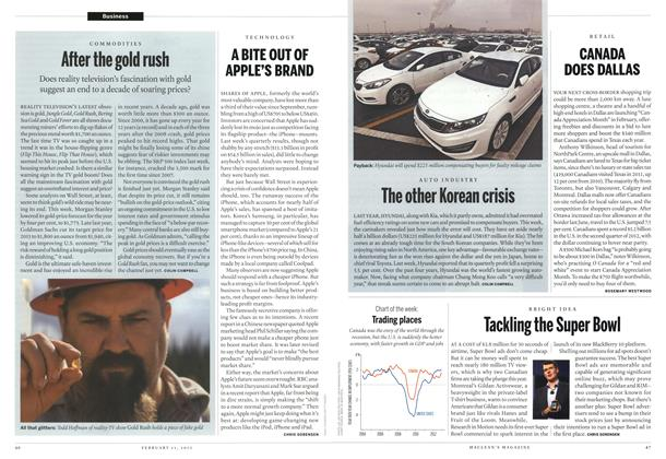 Article Preview: After the gold rush, February 2013 | Maclean's